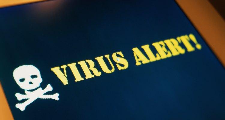 Você pode consertar um computador infectado com um vírus usando um antivírus e ferramentas do Windows