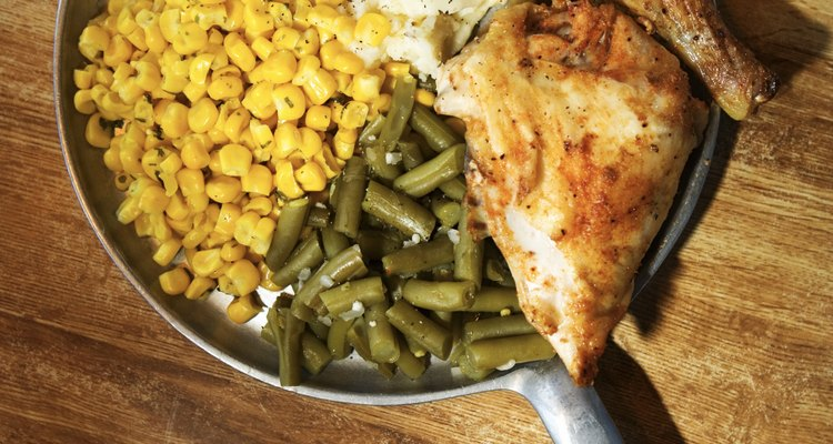 Chicken does not have to be bland and tasteless. Brown it for more flavour.