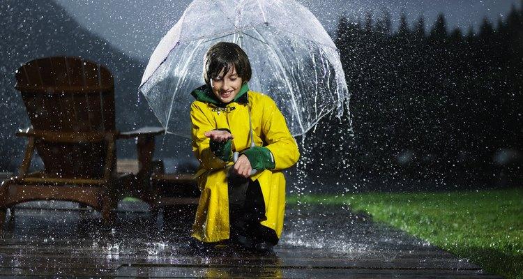 Los pluviómetros se utilizan para medir la cantidad de lluvia que ha caído durante un periodo de tiempo determinado.
