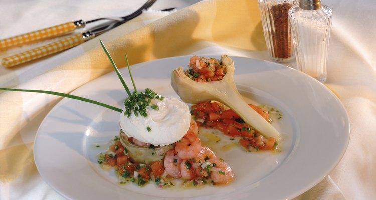 Cebolinhas e sour cream (um tipo de pasta comum nos Estados Unidos) são uma combinação saborosa