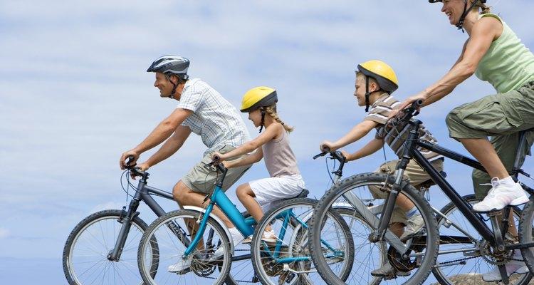 Las bicicletas están permitidas en las autopistas en algunos estados.