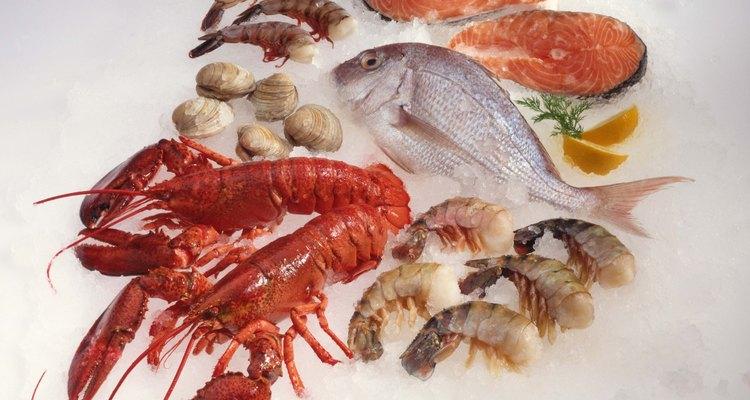 Una gran cantidad de peces criados en granjas vienen de China.