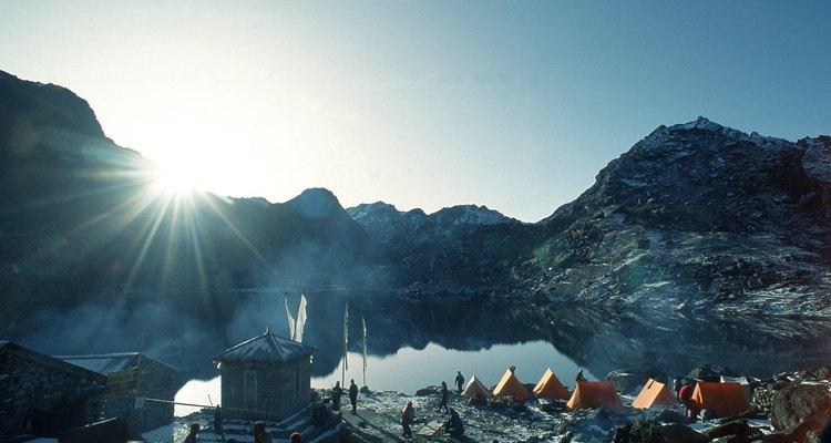 Acampamento no Himalaia, Nepal