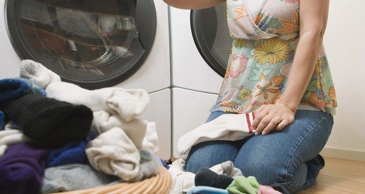 Um capacitor defeituoso pode lhe deixar desamparado no dia de lavar roupas