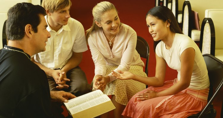 Role-play activities give youth a way to explore Christian values in real life.