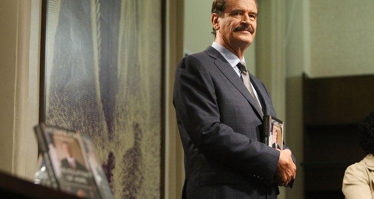 Vicente Fox llegó al poder por el Partido de Acción Nacional.