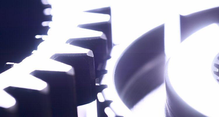 Los engranajes de leva están hechos específicamente para una máquina.