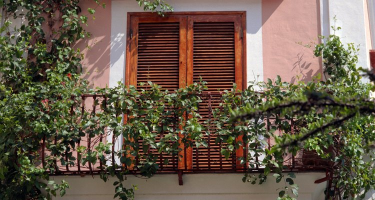 Balconies are the perfect place to grow cascading plants.