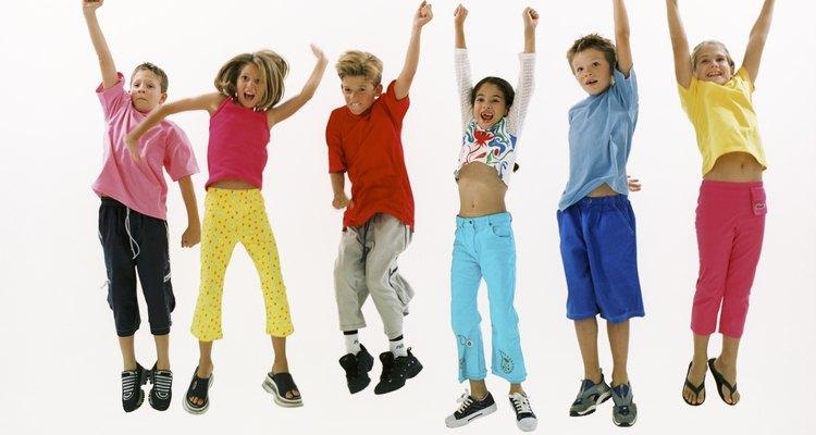 Algunos colores atraen a los niños porque representan emociones placenteras.
