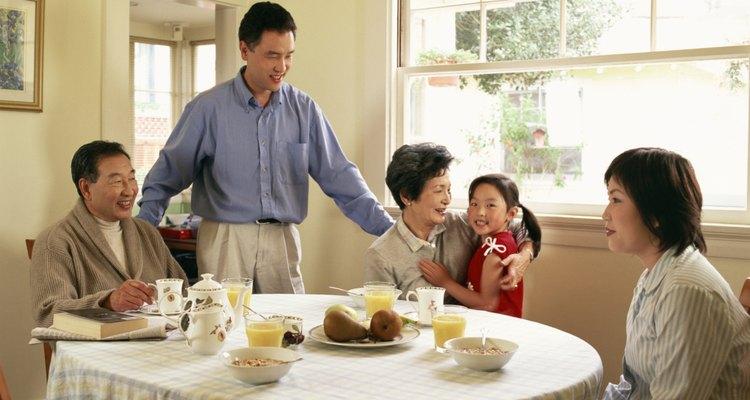 La cultura china se concentra alrededor de la familia.