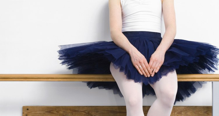 Tutus are made of a stiff tulle fabric, which needs a little refresher every once in a while.