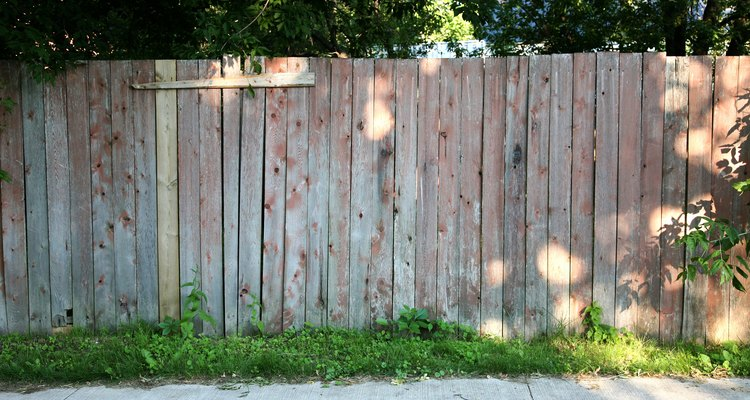 Keep your fence in good condition by cleaning it once a year.