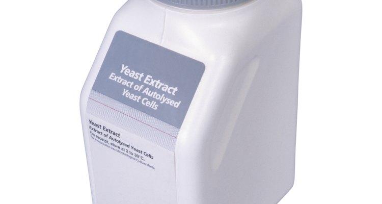 Bottle of yeast