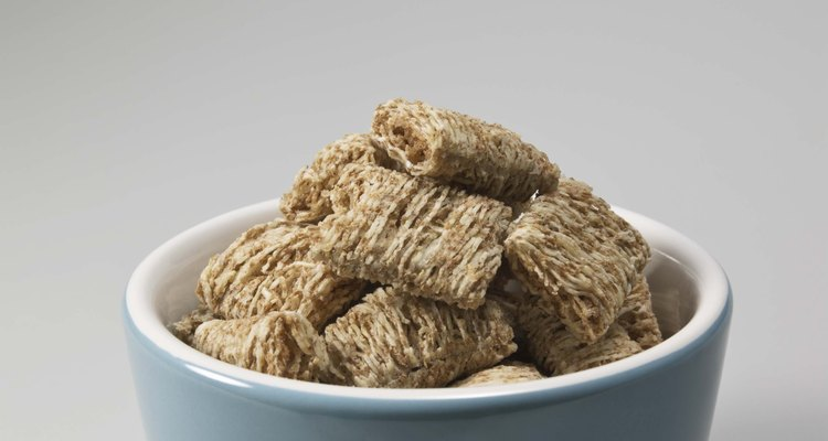 Iron-fortified cereals give you the iron your body needs.