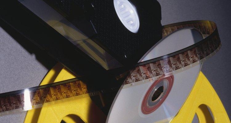 Filmes em DVD normalmente incluem legendas em várias línguas