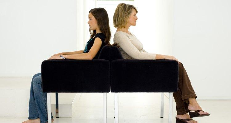 Los conflictos madre-hija pueden producir gran tensión para los padres.