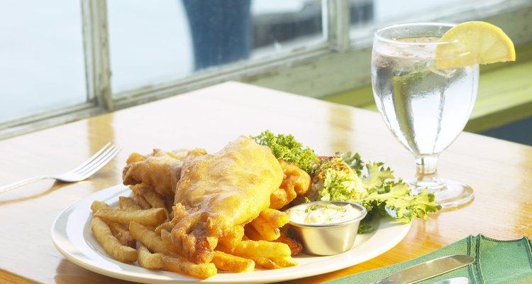 Peixe e batatas fritas são os favoritos