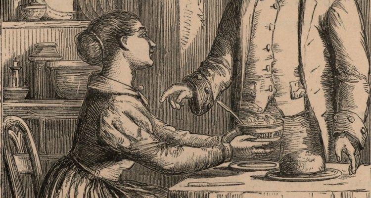 Las comidas en el siglo XVIII eran my distintas a los que son hoy en día.