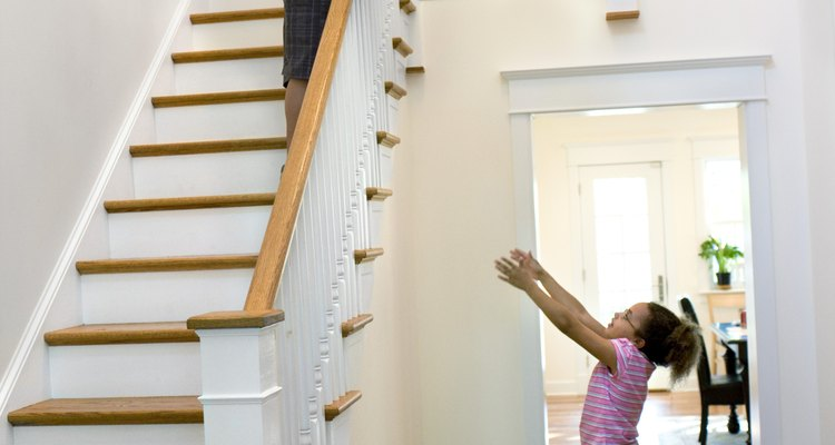 Aprende a medir las partes de tu escalera.