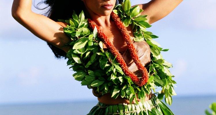 Los leis son un componente de la vestimenta tradicional hawaiana.