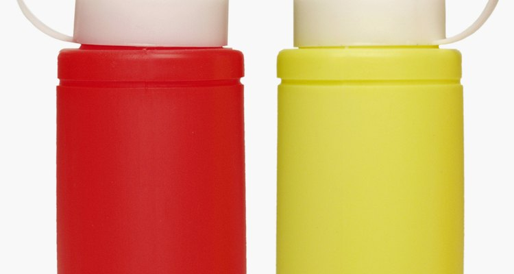 Crie a cor mostarda misturando cores primárias