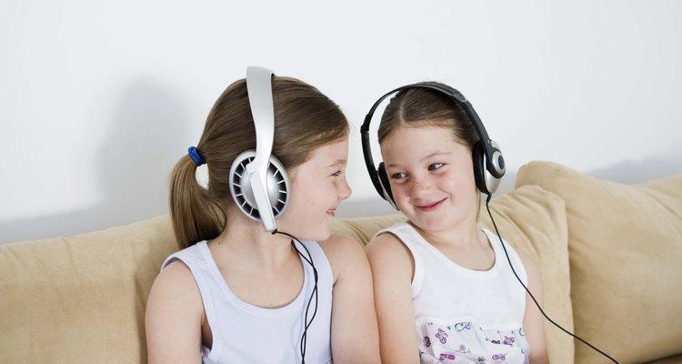 Las hermanas comparten un vínculo especial incluso cuando son pequeñas.