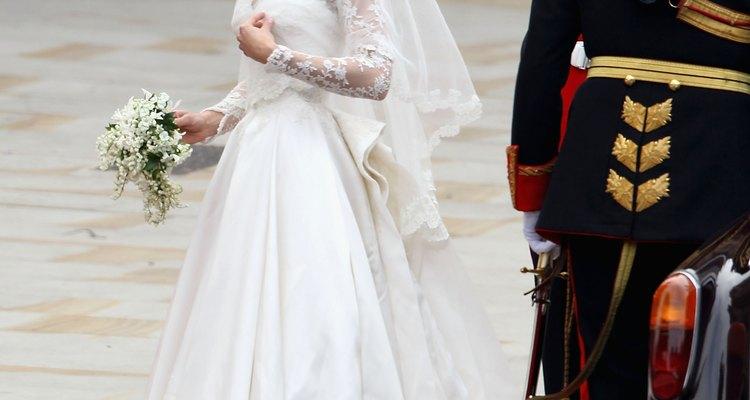 El vestido de novia de Kate Middleton combina la tradición victoriana con la modernidad.