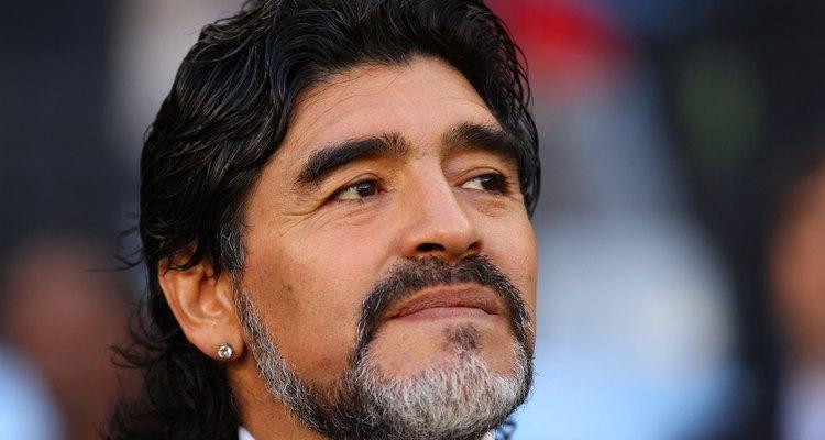 Para algunos, Diego Maradona es Dios.