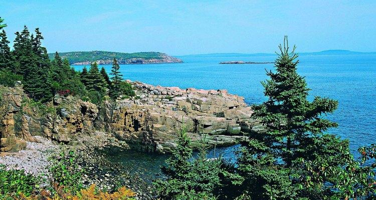 Coastline at Acadia National Park, Maine, USA