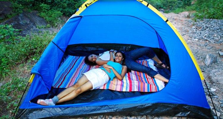 Las zonas de acampada en este parque tienden a llenarse rápidamente.