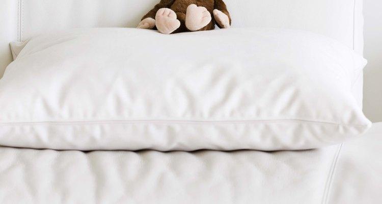 Travesseiros e fronhas têm três tamanhos padrão