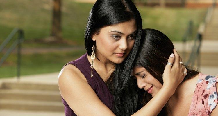 Nadie gusta que sus seres queridos estén tristes, pero a veces es mejor dejar que se desahoguen.