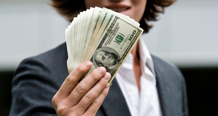 A economia estuda o valor de um dólar