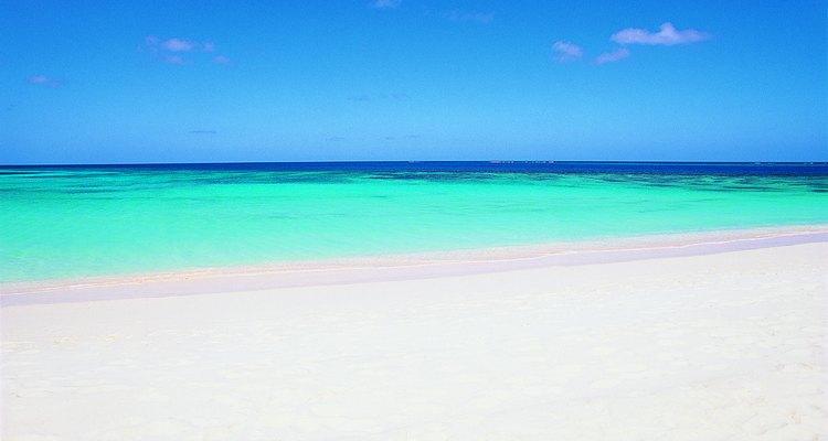 Las playas del Caribe son conocidas por su arena blanca.