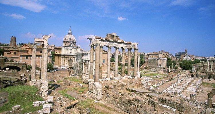 O Império Romano era uma das maiores civilizações do mundo antigo