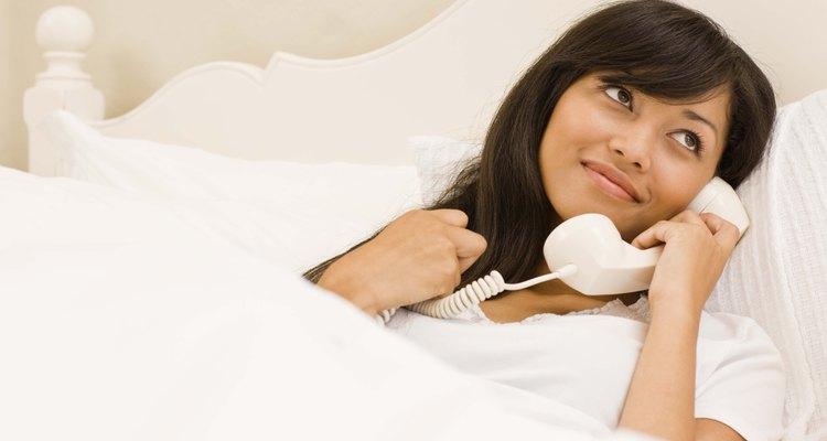 Telefones fixos proporcionam-lhe segurança e conveniência.