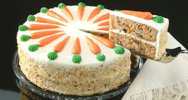 Un pastel de zanahoria para diabéticos puede prepararse con sustituto de azúcar.