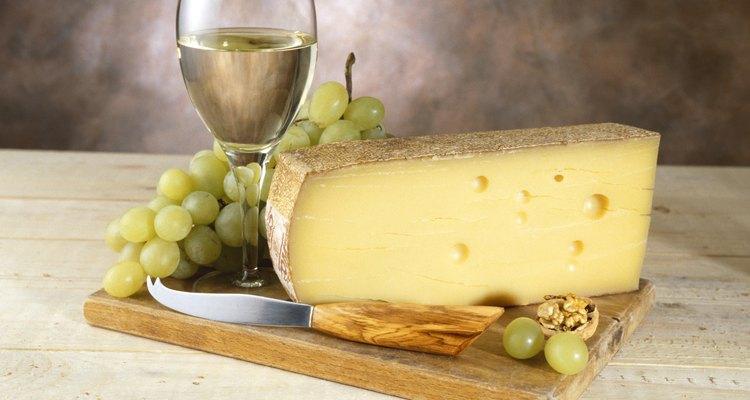Substitutos do queijo gruyère