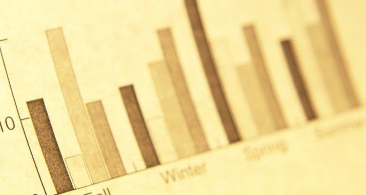 Os gráficos de barras agrupadas e empilhadas não são um tipo comum de gráfico do Excel, porém a organização criativa dos números permite que eles sejam criados