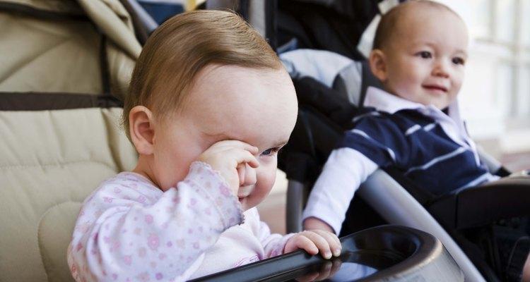 Algunos niños muerden cuando están cansados.