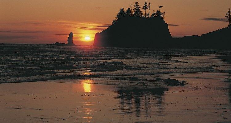 La costa Olympic es salvaje y robusta.