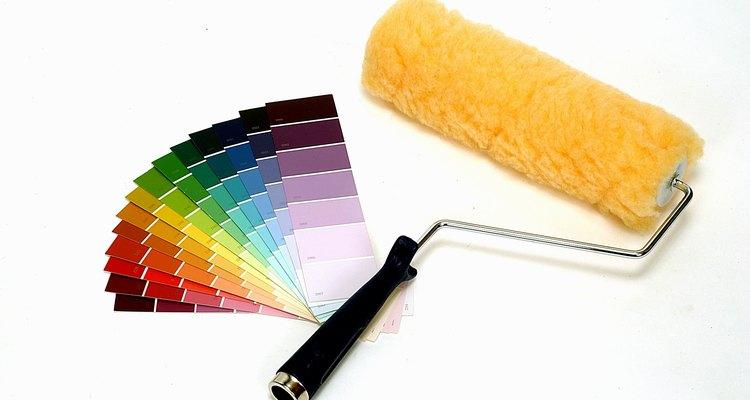 La aplicación de pintura en un clima frío puede ser un problema.