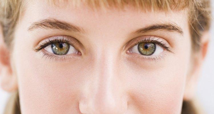 Ojos cristalinos.