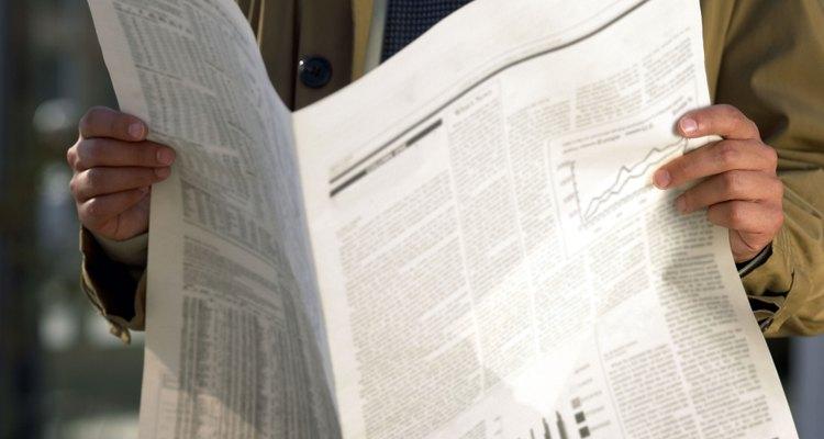 Transforme o jornal em uma bela recordação