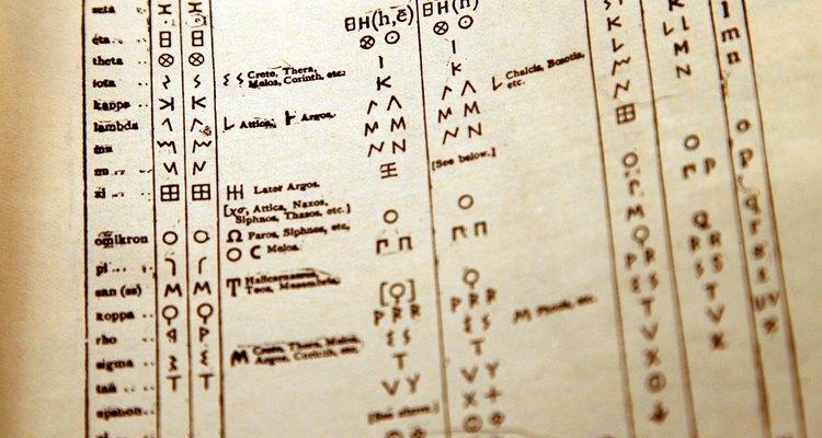 El griego es la fuente de muchas palabras del castellano moderno.