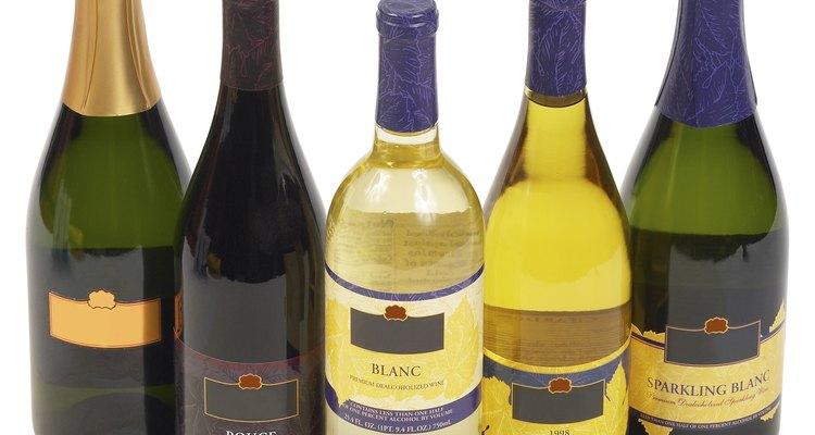 Diferentes clases de vinos