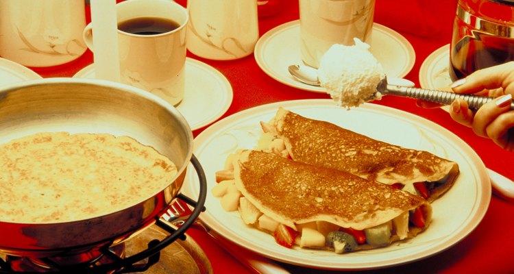 Los omelettes son deliciosos y nutritivos
