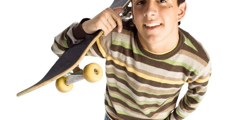 Um shape é um ótimo presente para um skatista