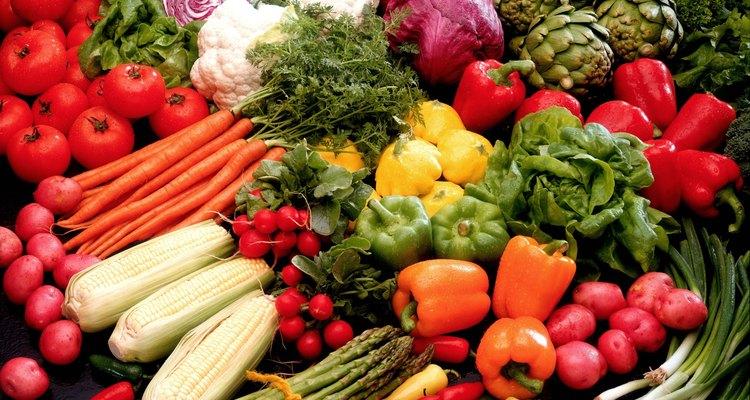 Los vegetales son kosher.
