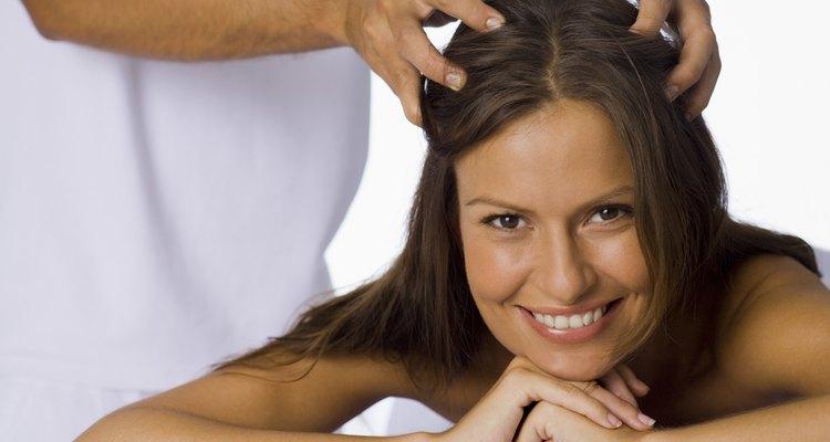 Aceite de ricino para el crecimiento del cabello.